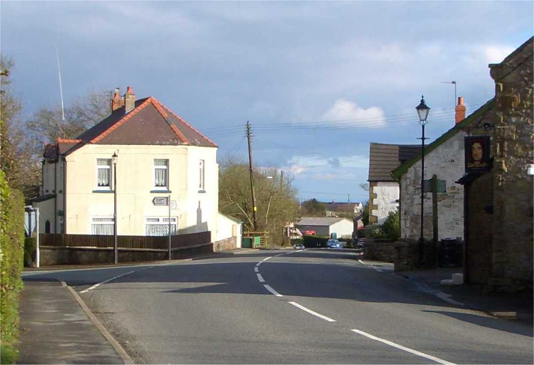 Bwlchgwyn Crossroads 25 07 05 hilaryshistorypages